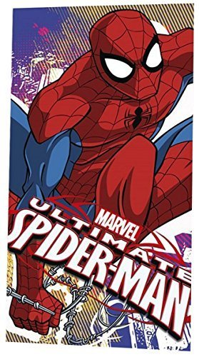 Marvel Ultimate Spider-Man enfants 120 x 60cm PLAGE & bain PERSONNAGE serviette Spiderman