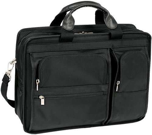 Ballistic Tote Laptop (McKlein, P Series, Hubbard, Tech-Lite Ballistic Nylon, 15