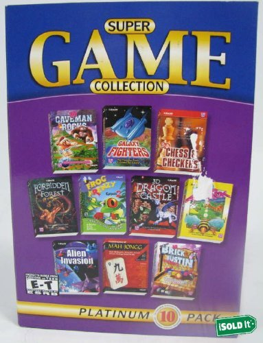 Super Game Collection 10 Pack (Caveman Board Game compare prices)