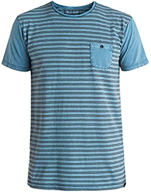 Mens Acid Striped Short-Sleeve Shirt