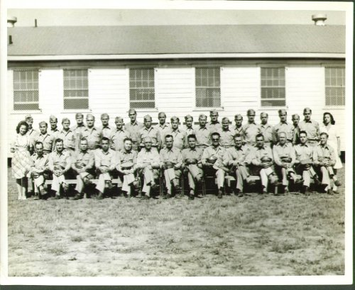 56th Bombardment Training Wing Officers & Men 8x10 1943 ()