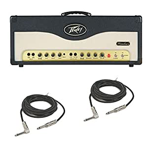 peavey windsor electric guitar 100w all tube amplifier head 12ax7 el34 cables. Black Bedroom Furniture Sets. Home Design Ideas