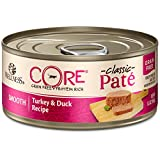 Wellness CORE Natural Grain Free Wet Canned Cat Food - Turkey & Duck Recipe - 24x5.5oz
