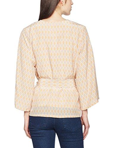 Kimono Para Pastel Gestuz Mujer Blusa Geometric Elfenbein Laila Fqx415U4g