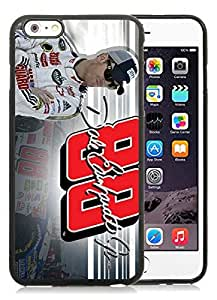 Dale Earnhardt Jr Black iPhone 6 Plus 5.5 inch TPU Cellphone Case Luxurious and Newest Design