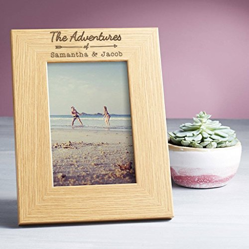 Personalized Picture Frame/Personalized Photo Frame - 4x6 5x7 8x6 Engraved Wooden Frames Available - Personalized Gift for ANY (Custom Engraved Picture Frames)