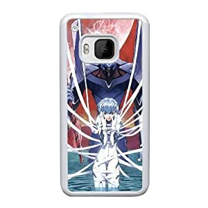 Special Design Cases HTC One M9 Cell Phone Case White Neon Genesis Evangelion Kkqkf Durable Rubber Cover