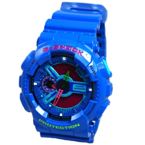 Casio G Shock Watches GA110HC 2A BLUE