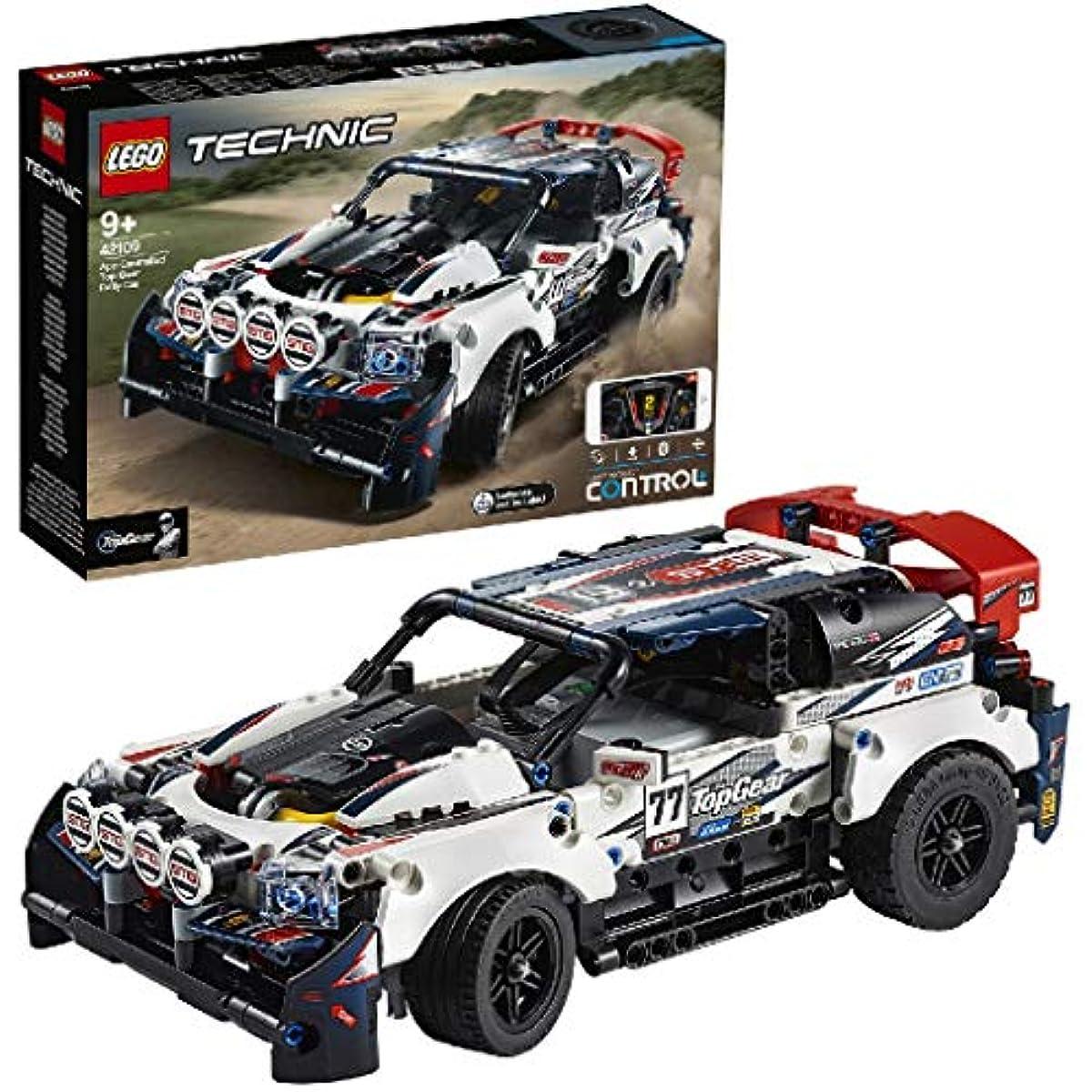 [해외] 레고(LEGO) 테크닉 톱 기어랠리 카(어플케이션 컨트롤) 42109