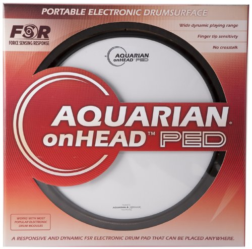 Aquarian Electro-Acoustic OHP13B Electronic Drum Pad by Aquarian