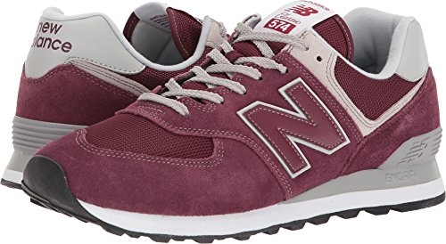 New Balance Men's  574v2 Sneaker, Burgundy, 11.5 2E US