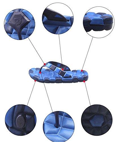 bottom 40 clip W flops non slippers resistant slip beach men swimming soft wear sand amp;XY flip Sandals pool wXTqrZXx