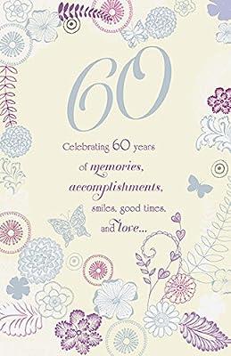 Amazon.com: Celebrando 60 años de recuerdos edad 60 ...