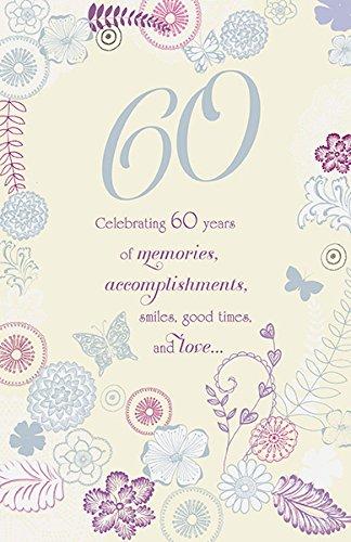 60 años de recuerdos tarjeta de felicitación de cumpleaños ...