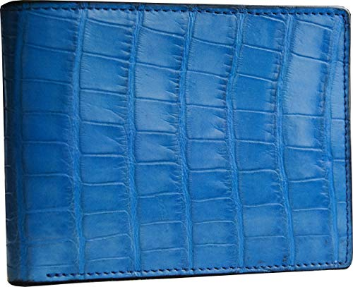 Cites Toscano Portamonete In Italy Etabeta Artigiano Coccodrillo Portafoglio Senza Uomo Azzurro Made Certificato Tq0xzUqw