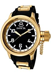 Invicta Watches Mens Russian Diver Polyurethane Band Watch