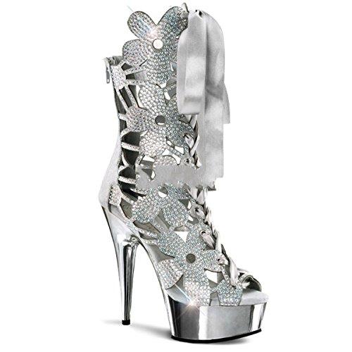 Pleaser Delight-600-36 - sexy plateau talon hauts chaussures femmes sandalettes 36-45