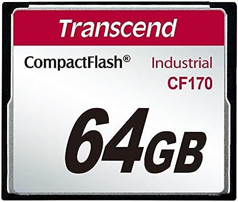 Transcend TS64GCF170 CompactFlash - Tarjeta de Memoria (64 ...
