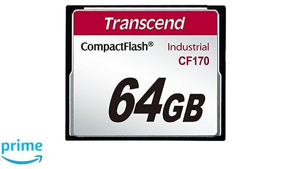 Transcend TS64GCF170 CompactFlash - Tarjeta de Memoria (64 GB ...