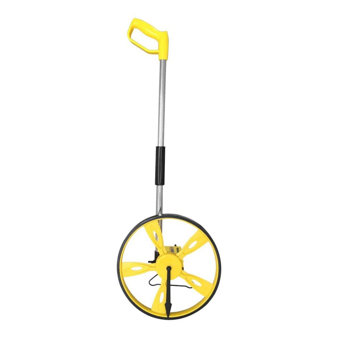 Distancia de plegado estable herramienta de medició n del topó grafo Contador de mano Medidor de ruedas Distancia Topografí a telé metro Fantasyworld