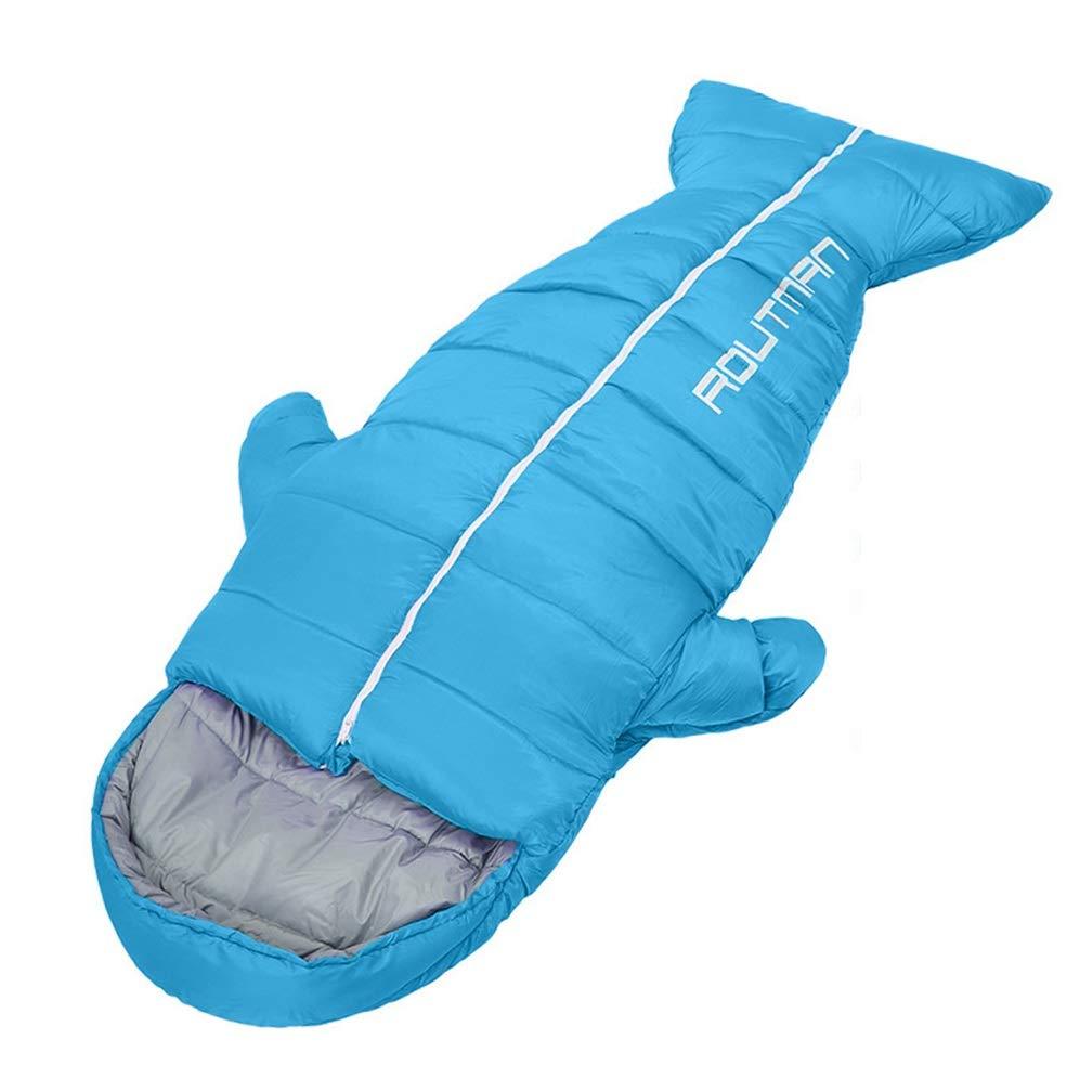 Bleu 1.5ikg LVJING Shijie sleeping sac Sac de Couchage Extérieur Sac de Couchage Extérieur Camping Ultra-léger Imperméable portable, Sac De Couchage pour Adultes, Randonnée, Camping Trois Couleurs