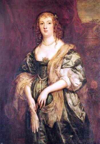 Sir Antony Van Dyck Portrait of Anne Carr, Countess of Bedford - 18.05