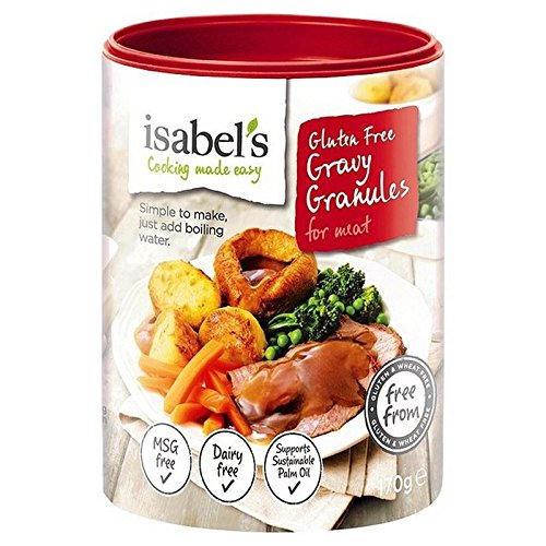 Libre De Gluten Gránulos De Salsa De Isabel Como 170 G De Carne: Amazon.es: Alimentación y bebidas