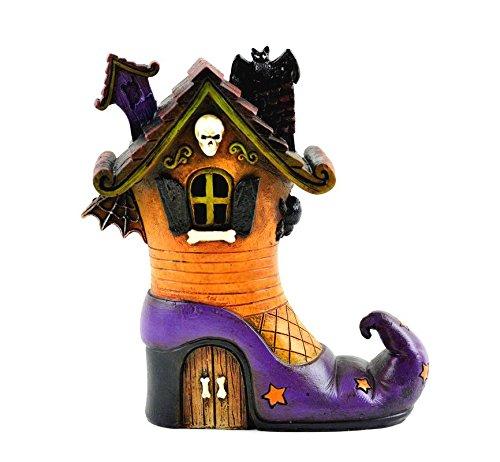My Fairy Gardens Halloween Miniature - LED Haunted Witch House - Mini -