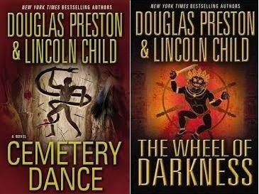 Set of 2 The Wheel of Darkness , Cemetery Dance - Douglas Preston & Lincoln Child