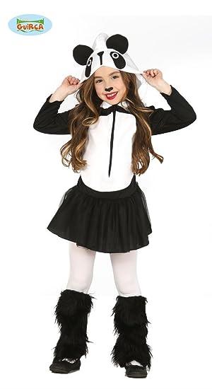 Guirca-83249 Disfraz 5-6 años Oso Panda Falda, Color Blanco/Negro ...