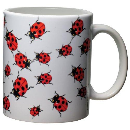 [Ladybugs 11 oz. Ceramic Coffee Mug] (Pet Ladybug Costume)