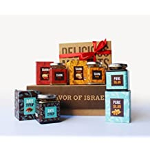 Yofff Date Spreads & Tahini Collection Gift Basket