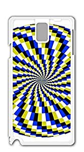 Hard Snap on Phone Case case for samsung galaxy note 3 - Visual map6 circle
