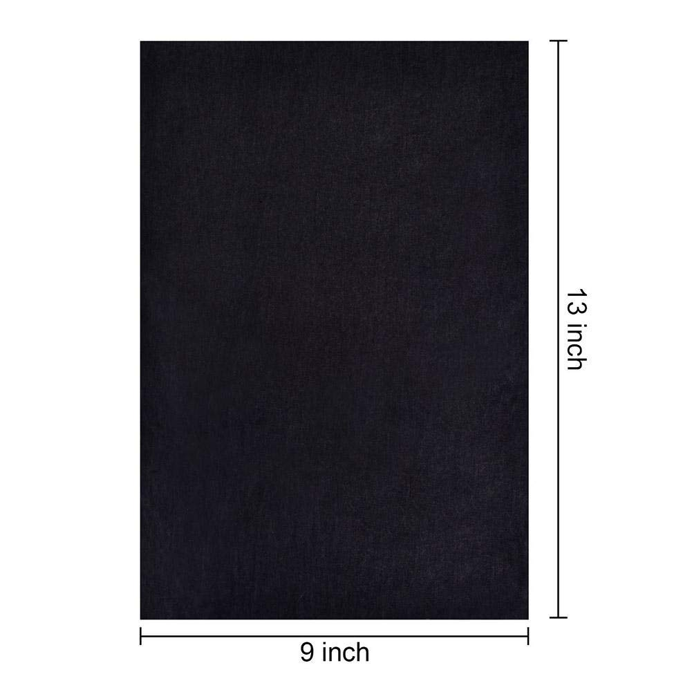 25 Sheets advantageous Well-Suited Everywhere learnarmy Graphite Carbon Paper Black Graphite Transfer Tracing Paper Carbon Paper for Wood Paper Canvas and Other Artistic Surfaces