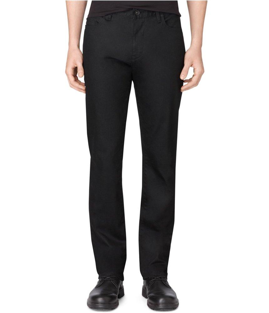 Calvin Klein Men's Slim Fit Stretch Jean,Black,31W 32L