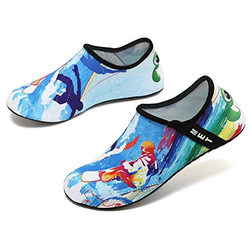 Aqua Swim Barefoot Dry Surf SOVIKER Surfing Outdoor Womens Slip Shoes Quick On Yoga Mens Water Beach for Exercise OvqCf