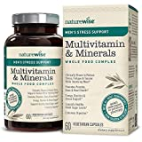 Cheap NatureWise Men's Whole Food Multivitamin & Minerals Complex + Sensoril Ashwagandha Organic Extract for Clinically Proven Stress Support & Mens Health |⬇ Watch Product Video in Images | 60 Ct
