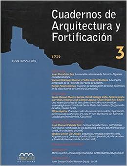Amazon.com: CUADERNOS DE ARQUITECTURA Y FORTIFICACI?N, N? 3 ...