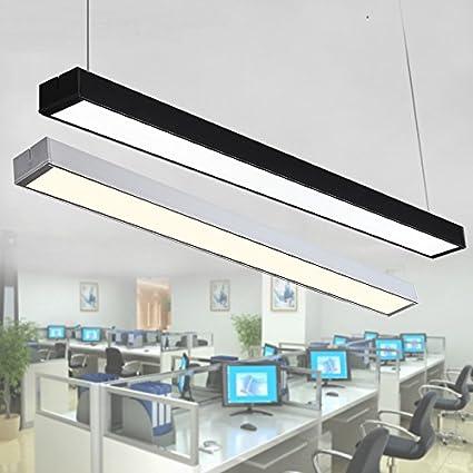 Ordinaire Modern Office Lighting LED Strip Light Chandelier Lamp Modern Office Office  Lighting Long Strip Aluminum Lamp