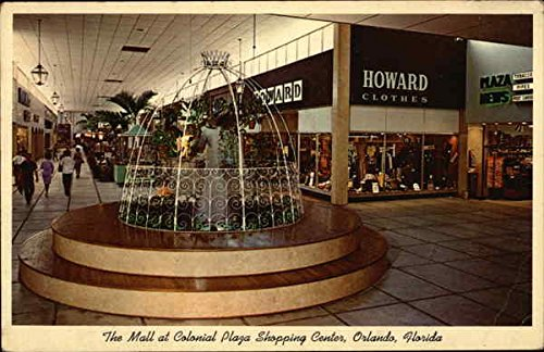 The Mall at Colonial Plaza Shopping Center Orlando, Florida Original Vintage - Shopping Orlando Mall