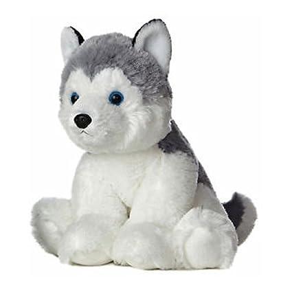 Aurora 50269 Plush Toy Husky 14 Tall Grey