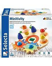 Selecta 62036 Minitivity, motorisch speelgoed van hout, 14 cm
