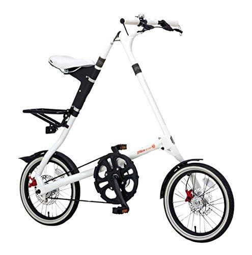 STRIDA(ストライダ) 16インチ折りたたみ自転車 内装3段変速 アルミフレーム STRIDA EVO16 B01CFGDSWIホワイト