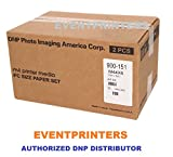 DNP M4 4X6 PRINTER MEDIA (800 prints). For use with DNP M4, M3, Altech ADS Megapixel III Citizen Systems CV01-H01 printers. Comes with samples of our best selling photo folders! (Eventprinters brand).