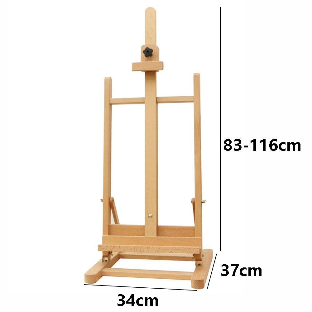 Staffelei Desktop Holzskizze Sketchpad Rahmen Werbung Promotion ...