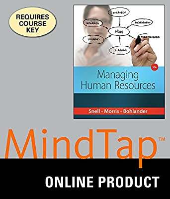 MindTap Management Online Courseware to Accompany Snell/Bohlander's Managing Human Resources, 17th Edition, [Instant Access], 1 term (6 months)