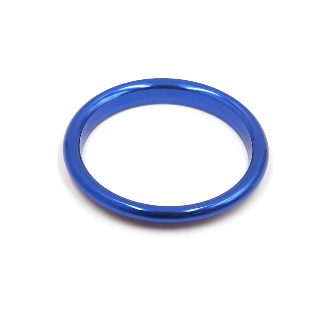 sourcing map 4Pcs Blue Aluminum Alloy Car Air Vent Outlet Rings Decorative Cover for Audi A3