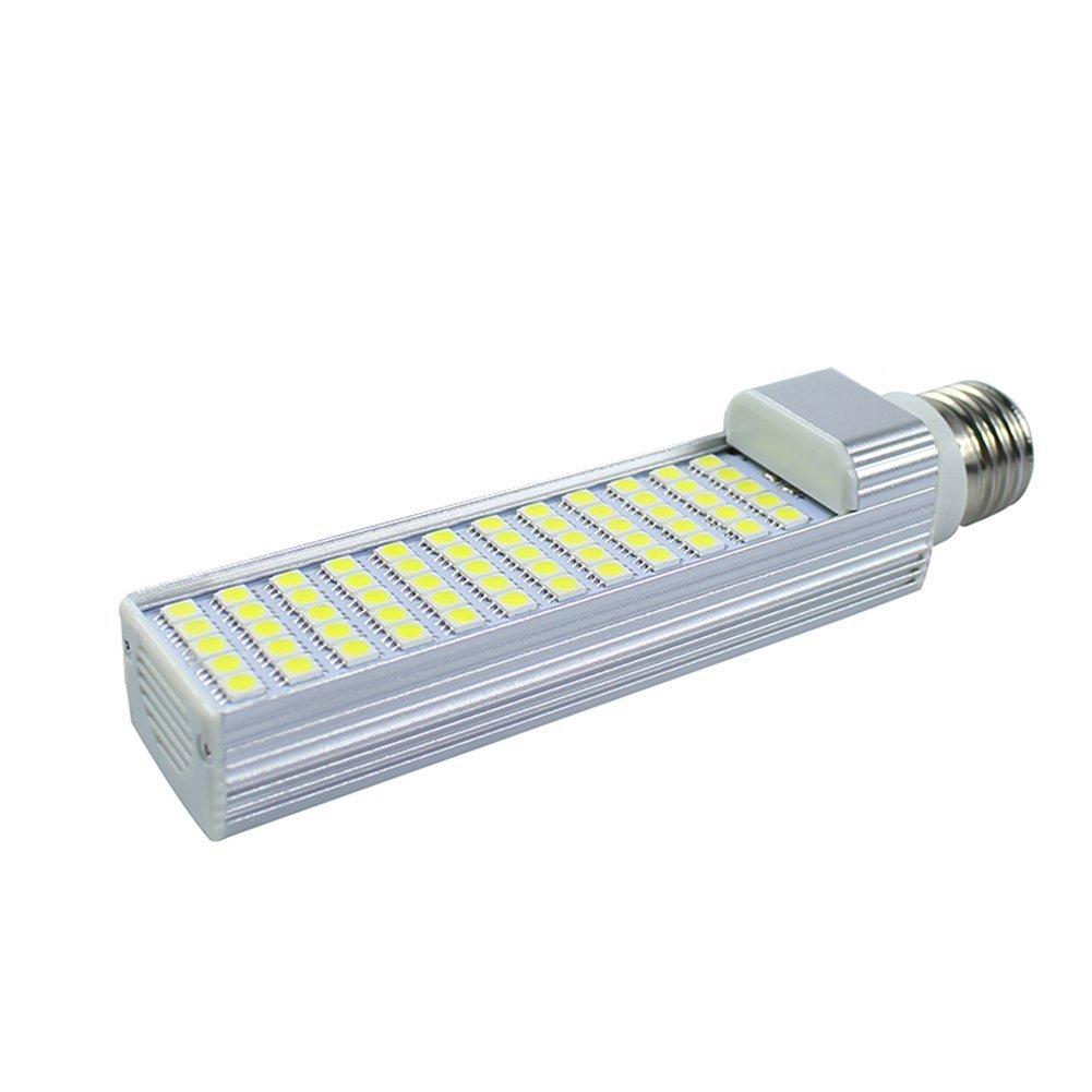 Masonanic LED 9W G24 Compact Fluorescent Lamp Rotatable Aluminum Lamp G24 E26LED CFL/Compact Fluorescent Lamp,25W CFL Equivalent (3000K Warm White, 1 Pack)