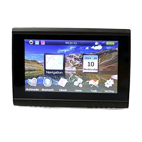 Motorrad Navigation wasserdicht GPS Navigationsgeräte 5