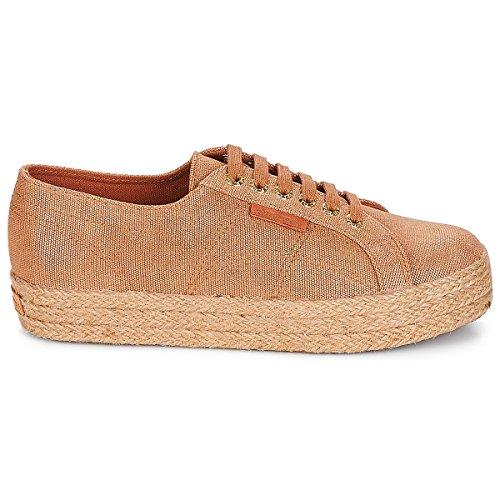 A50 2730 rose S00C4Y0 Piattaforma Donna con Gold Brown SUPERGA Sneakers Scarpe Fp0nYP